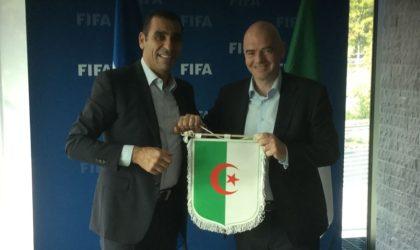 FAF : Infantino en visite à Alger les 21 et 22 février