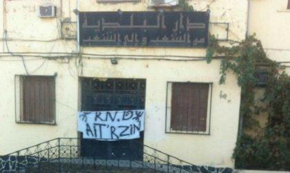 Des militants du RND ferment le siège de l'APC d'Aït R'zine