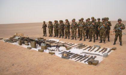 Découverte d'une cache d'armes près de la frontière algéro-malienne