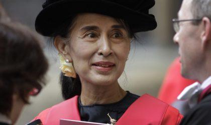 Aung San Suu Kyi persona non grata au Royaume-Uni