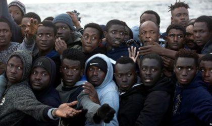 Des migrants subsahariens refoulés par le Maroc vers l'Algérie