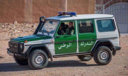 Arrestation à El-Oued du terroriste narcotrafiquant recherché G. Mohamed Fares