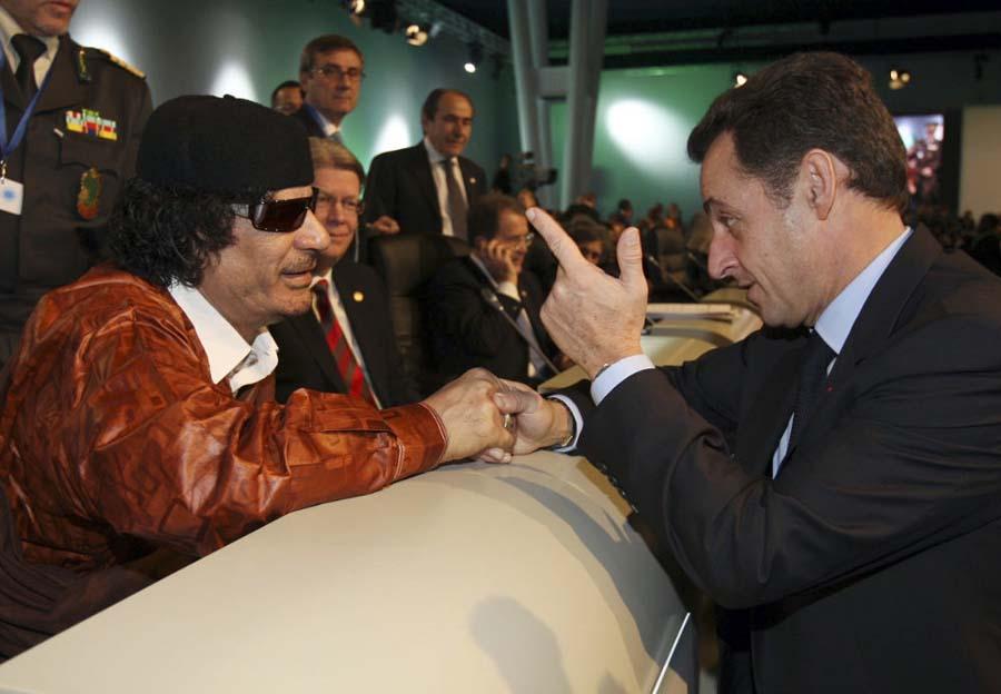 Kadhafi France