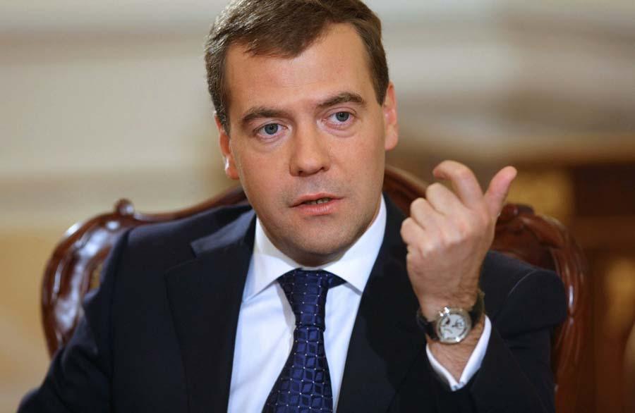 Medvedev Premier ministre