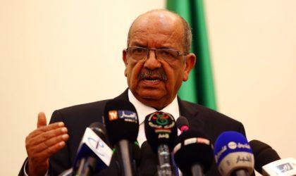 Messahel : «Les faux comptes rendus à l'ONU sont un précédent grave»