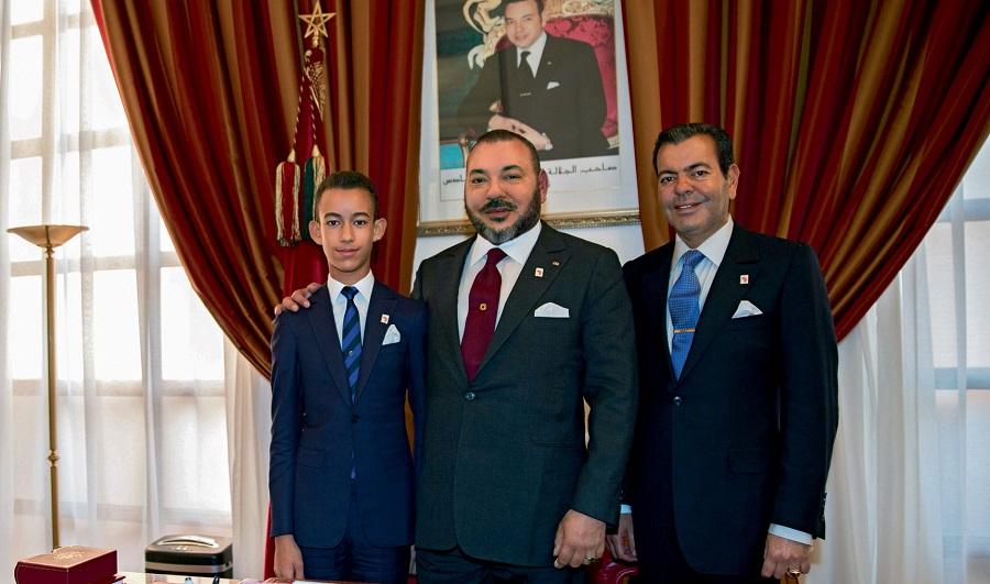 Mohammed VI fils et frère