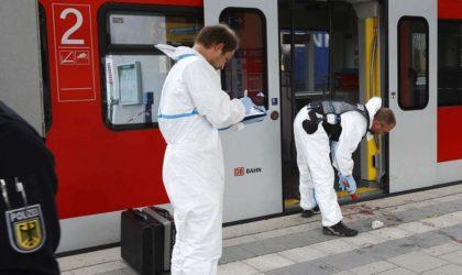 Allemagne/Attaque au couteau à Munich: plusieurs blessés