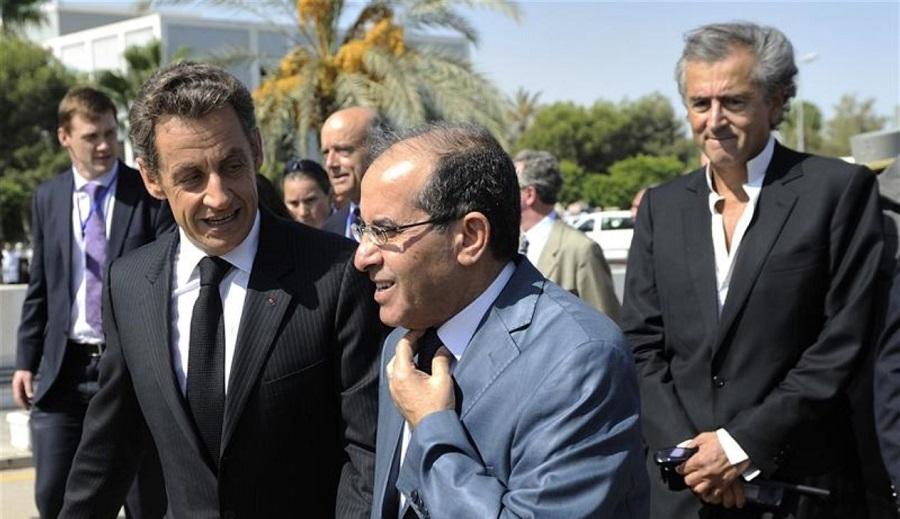 Sarkozy Libye