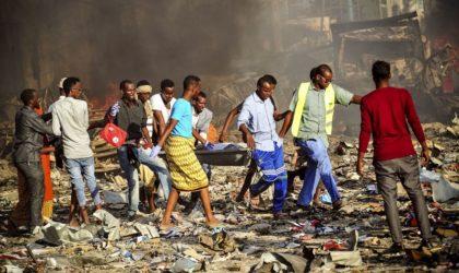 Attentat à la voiture piégée à Mogadiscio
