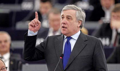 Tajani : «L'Europe doit craindre la multiplication des petites patries»