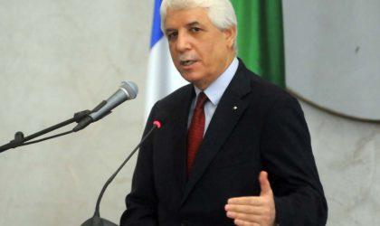 Tayeb Louh à la réunion des ministres de la Justice de l'UA