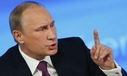 Poutine : «Interdire les Russes des JO-2018 nuirait au mouvement olympique»