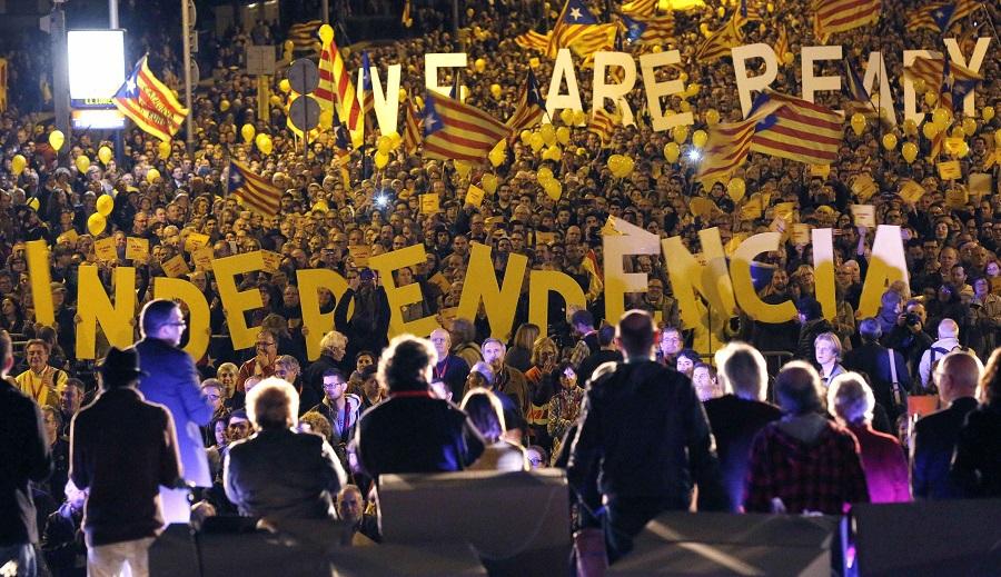 Catalogne Espagne séparatistes