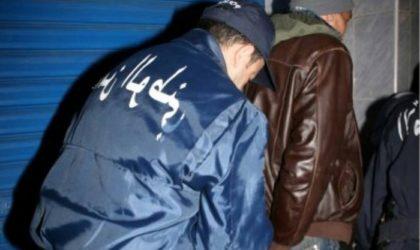 Plus de 1000 arrestations dans des affaires criminelles en une semaine à Alger