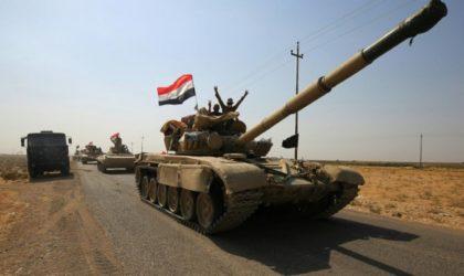 Irak : les forces irakiennes rentrent dans Kirkouk