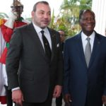 Mohammed VI Ouattara Maroc Cote d'Ivoire