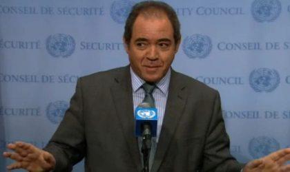 Intervention de M. Sabri Boukadoum, représentant permanent de l'Algérie à l'ONU
