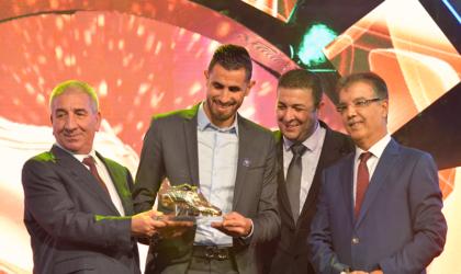 Cérémonie organisée par Condor et El-Khabar Erriadhi: Ahmed Gasmi sacré Soulier d'or 2017