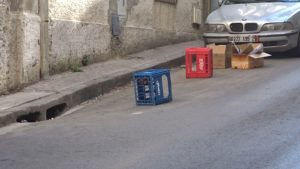 Squat trottoirs Alger