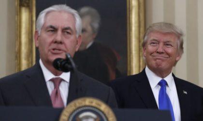 Prétendue démission de Rex Tillerson : que se passe-t-il à Washington ?