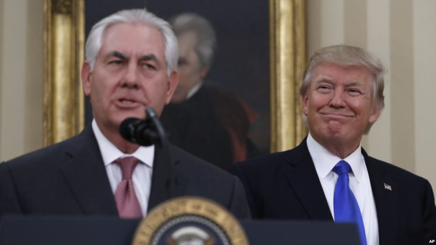 Tillerson intox
