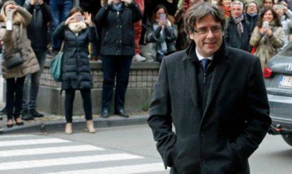 Crise catalane : le président Puigdemont libéré en Belgique