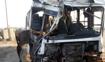 Bilan macabre des accidents de la route
