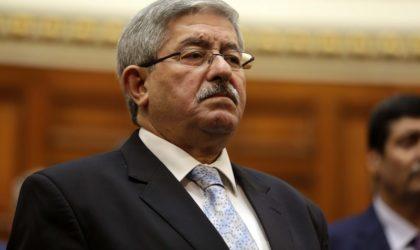Ouyahia reçoit le président du Congrès mondial des cours et conseils constitutionnels