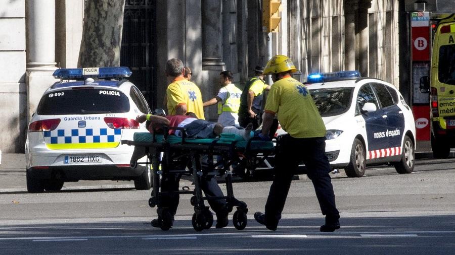 Barcelone attentat espagnols