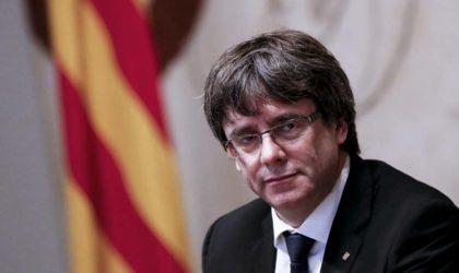 La justice belge «va étudier» le mandat d'arrêt européen lancé contre Puigdemont
