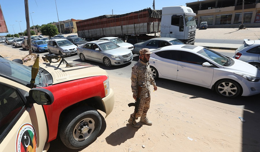 Libye algériens