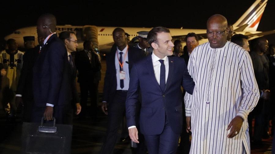 Macron Afrique