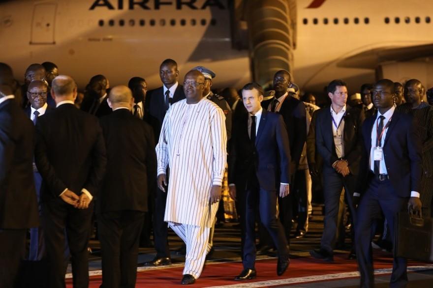 Macron Ouagadougou