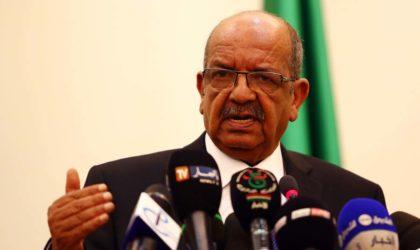 Messahel expose à Washington l'approche algérienne en matière de lutte contre le terrorisme…