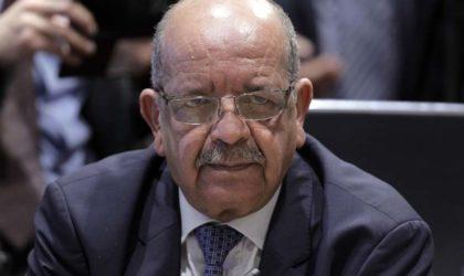 Messahel : «L'Afrique du Nord menacée après les défaites de Daech»