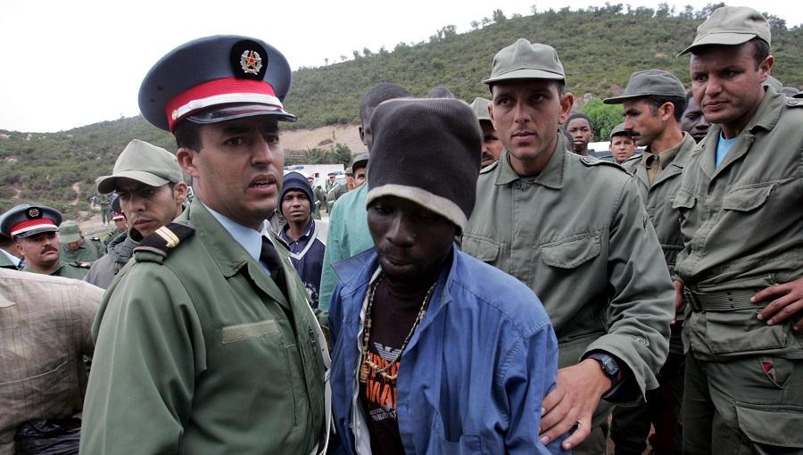 """Résultat de recherche d'images pour """"migrants au Maroc repression expulsions"""""""