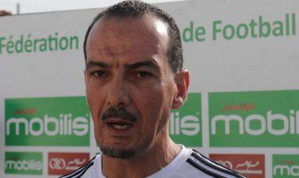 L'Algérien Nabil Neghiz s'est engagé à remettre l'équipe sur les rails