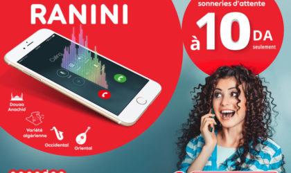 Nouvelle promo sur le service Ranini d'Ooredoo