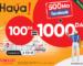 Nouvelle promo Haya! 100: 1000 DA d'appels et 500 Mo à Facebook pour 100 DA