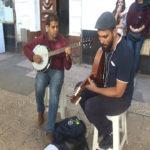 musicien de rue Alger