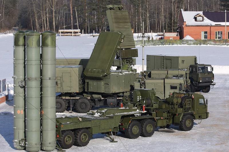 Missile sol-air S-400 Triumph