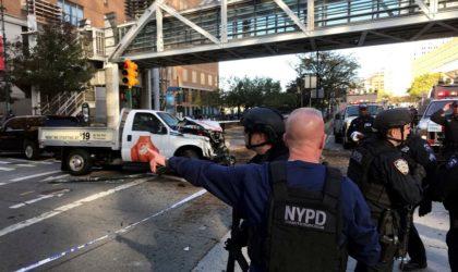 Attaque terroriste à New York : huit morts et onze blessés