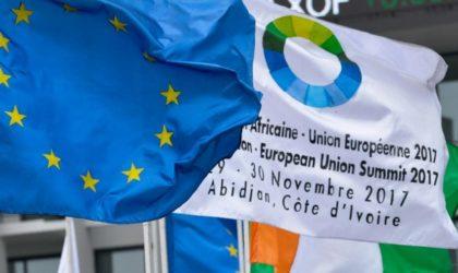 Sommet UA-UE: adoption d'une déclaration commune sur la situation des migrants en Libye