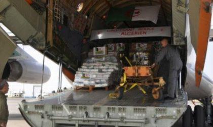 L'Algérie octroie une nouvelle aide humanitaire à la Libye