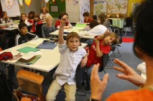 école classe élèves