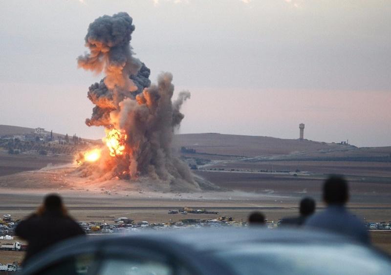 L'aviation russe cible Daech en Syrie