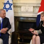 Theresa May Benyamin Netanyahu