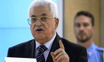 Mahmoud Abbas : «Le gouvernement britannique doit redresser la situation» en Palestine