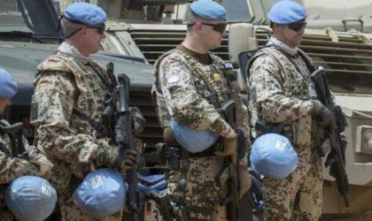 Mali: au moins trois Casques bleus et un soldat malien tués dans une attaque