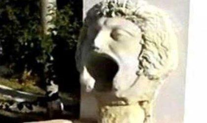 Le masque de Gorgone exposé provisoirement au Musée national des antiquités d'Alger
